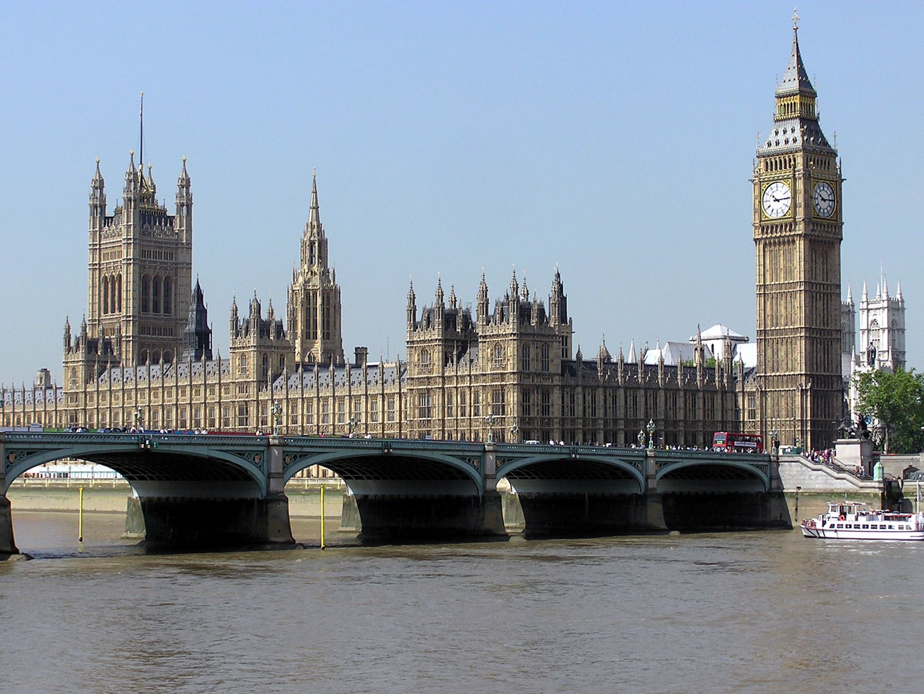 Londen, Houses of Parliament met de Big Ben