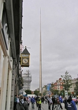 Dublin, Ierland. The Spire